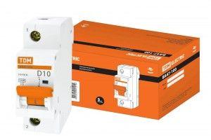 Автоматический выключатель TDM ВА47-100 SQ0207-0008