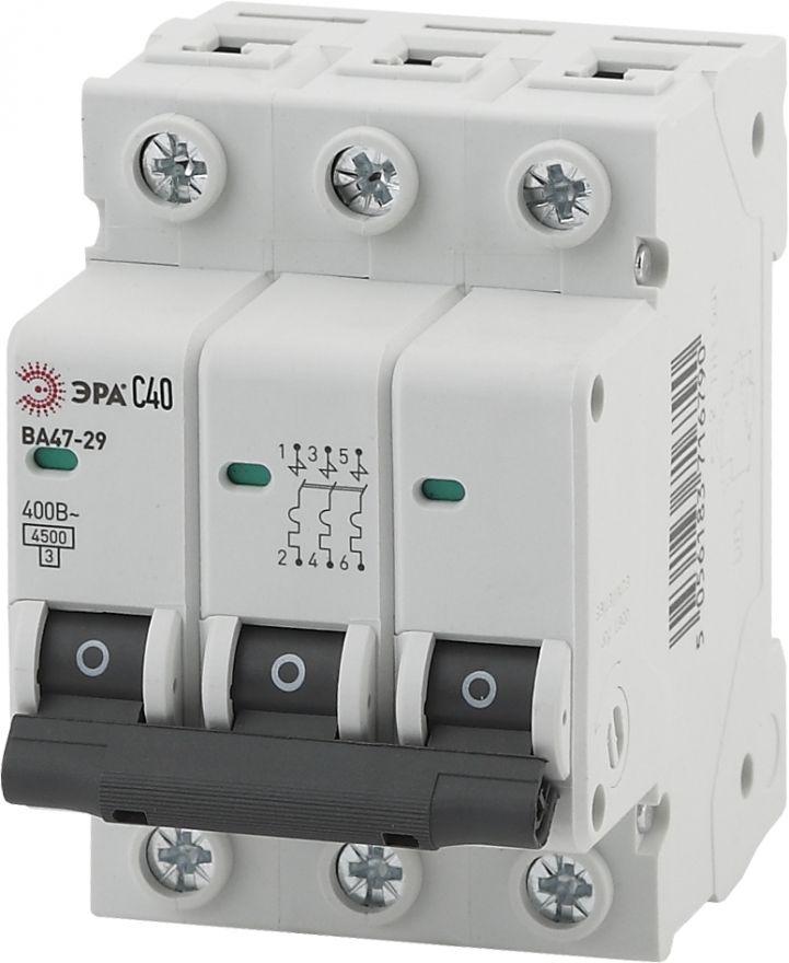 Автоматический выключатель ЭРА ВА47-29 NO-902-122
