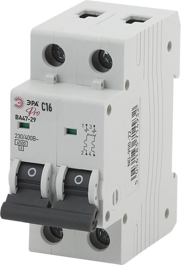 Автоматический выключатель ЭРА ВА47-29 NO-900-28