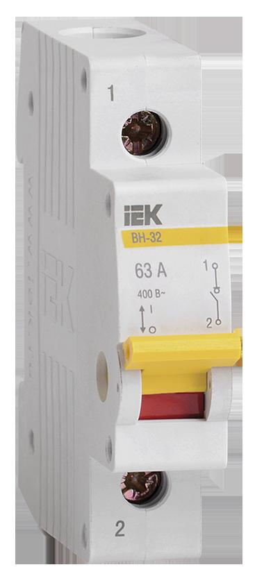 Выключатель нагрузки IEK MNV10-1-100