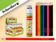Набор цветных карандашей в картонной трубе, 12 цв. (арт. yl 815032-12)