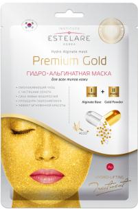 """""""Estelare"""" ГИДРО-Альгинатная маска Premium GOLD для всех типов кожи  55 г"""