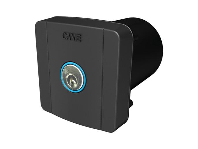 SELC2FDG Ключ-выключатель встраиваемый с синей подсветкой (806SL-0020)