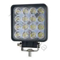 LED фара ближнего света 48 Ватт SLIM 16 диодов