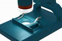 Микроскоп цифровой Levenhuk LabZZ DM200 LCD  - фонарь
