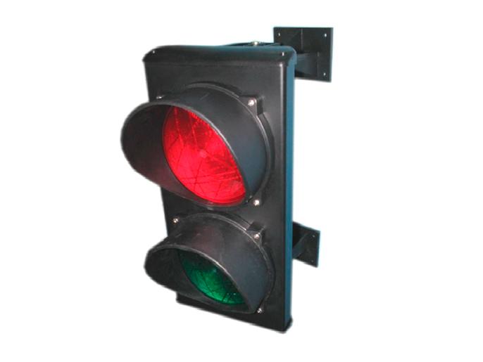 Светофор светодиодный, 2-секционный, красный-зелёный, 24 В (C0000710)