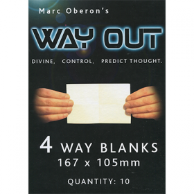 Way Out XII by Marc Oberon (реквизит + обучение)