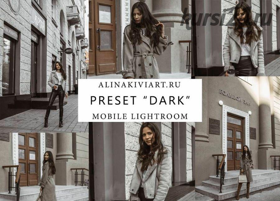 Мобильный пресет Dark (Alina Kiviart) 2019