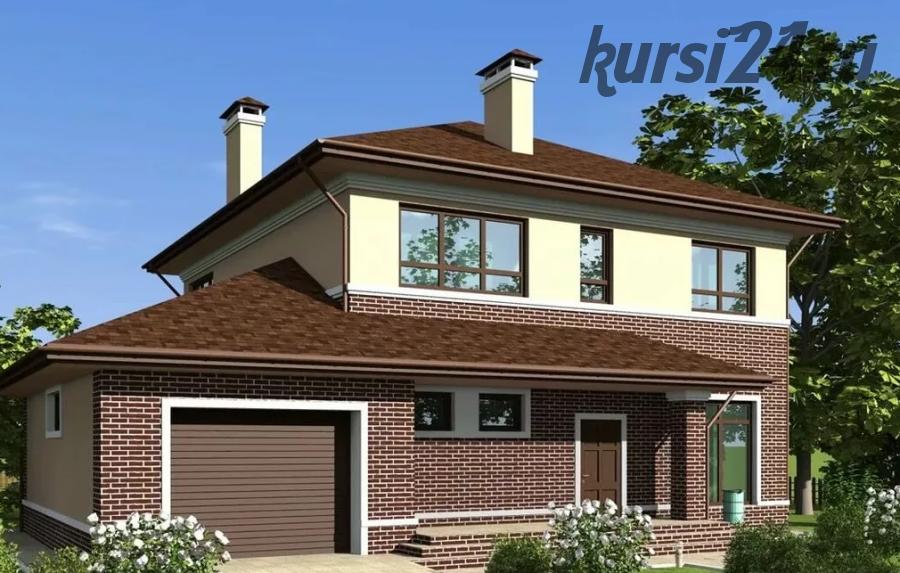 Проект двухэтажного дома с гаражом (Архитектурная мастерская Архимас)