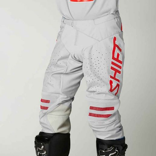 Shift Black Label King Grey/Red штаны для мотокросса