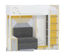 Кровать Альфа с диванным блоком 11.20