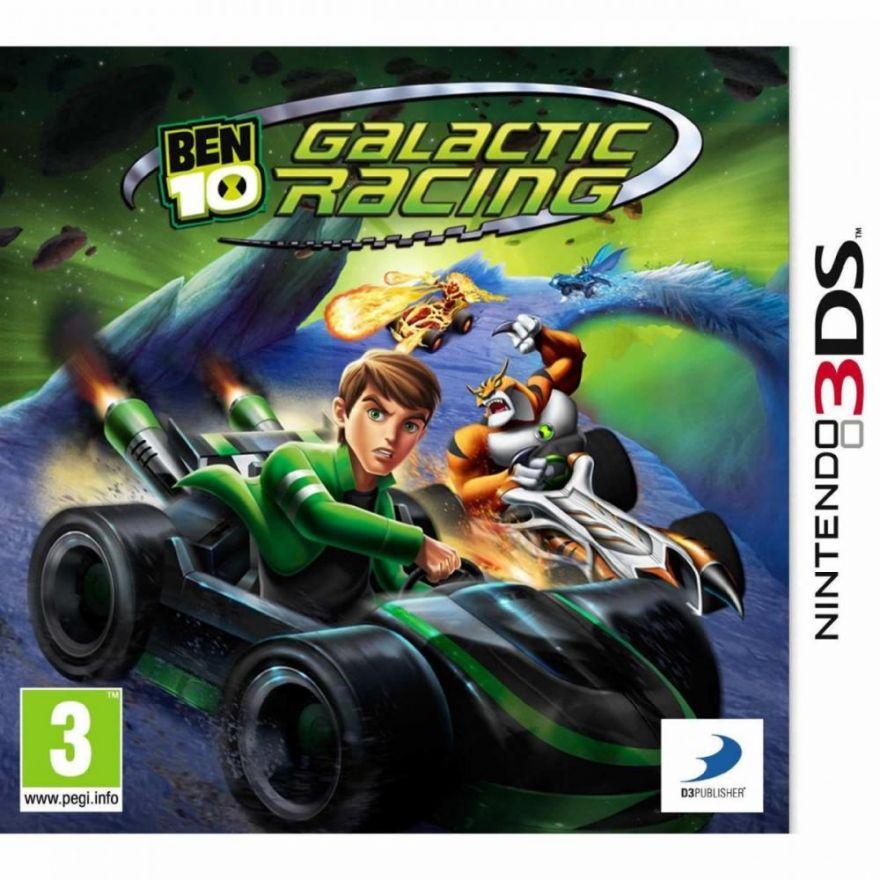 Игра Ben 10 Galactic Racer (3DS)