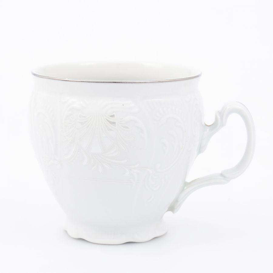 "Чашка ""Платиновый узор"" 240мл"