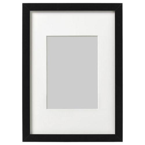 RIBBA РИББА, Рама, черный, 21x30 см - 403.815.40