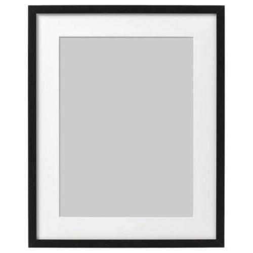 RIBBA РИББА, Рама, черный, 40x50 см - 103.815.46