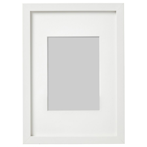 RIBBA РИББА, Рама, белый, 21x30 см - 203.815.41