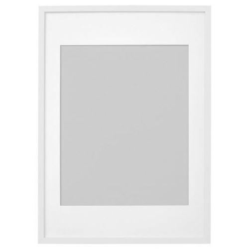 RIBBA РИББА, Рама, белый, 50x70 см - 603.815.77