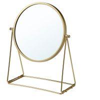LASSBYN ЛАССБЮН, Зеркало настольное, золотой, 17 см - 904.710.34