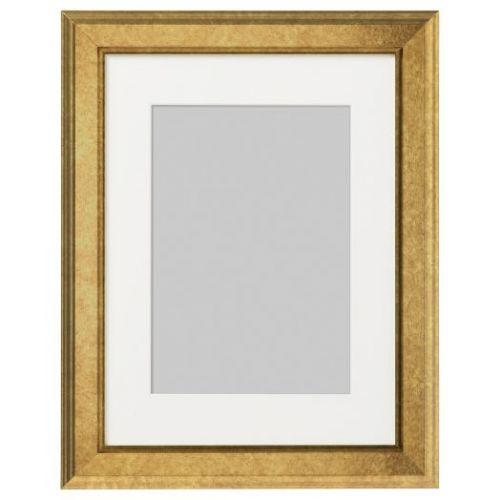 VIRSERUM ВИРСЕРУМ, Рама, золотой, 30x40 см - 703.815.34