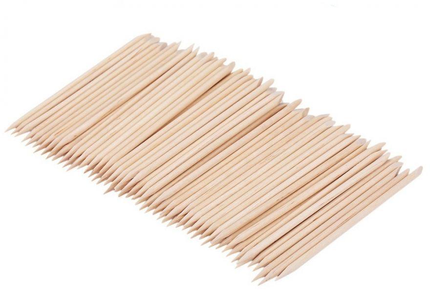 Апельсиновые палочки для кутикулы 12 см (100 шт)