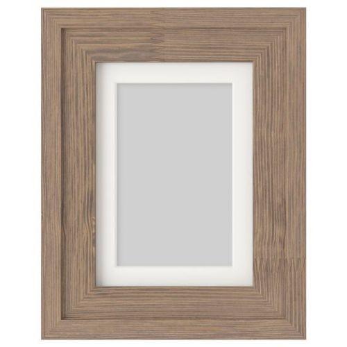 RAMSBORG РАМСБОРГ, Рама, коричневый, 13x18 см - 404.651.58