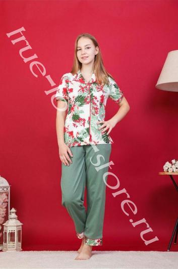 227009 - Цена за 6 шт, Пижама из хлопка