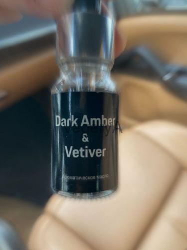 Porsche Dark amber and vetiver 10мл