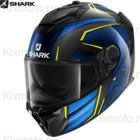 Шлем Shark Spartan GT Carbon Kromium, Черно-синий