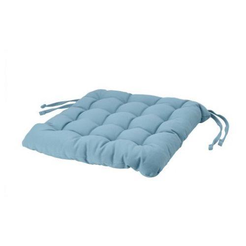VIPPART ВИППЭРТ, Подушка на стул, бирюзовый, 38x38x6.5 см - 904.869.31