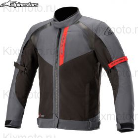Мотокуртка Alpinestars Headlands Drystar, Черно-серо-красный