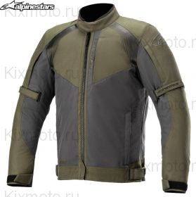 Мотокуртка Alpinestars Headlands Drystar, Черно-оливковый
