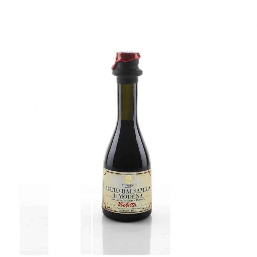 Уксус бальзамический из Модены Виолетта 1 медаль 250 мл, Aceto balsamico di Modena Violetta, Mussini, 250 ml
