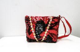 Детская сумочка с пайетками- перевертышами