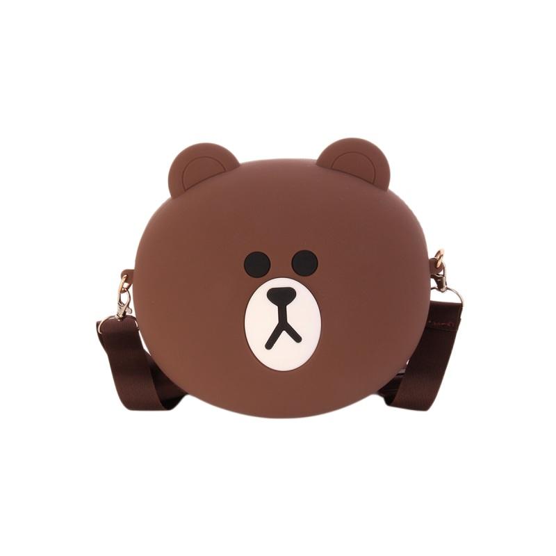 Сумка детская силиконовая, Медвежонок