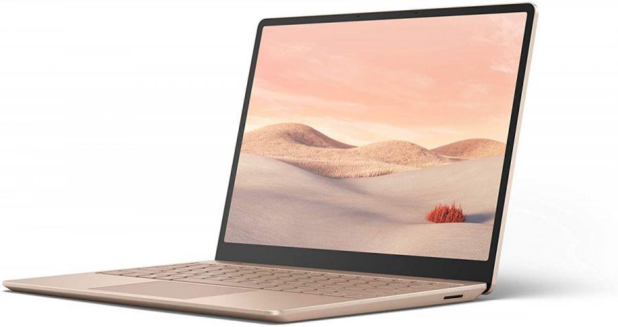 "Ноутбук Microsoft Surface Laptop Go (Intel Core i5-1035G1 1000MHz/12.4""/8GB/256GB SSD/DVD нет/Intel UHD Graphics/Wi-Fi/Bluetooth/Windows 10 Home) Sandstone"