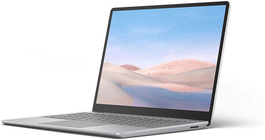 "Ноутбук Microsoft Surface Laptop Go (Intel Core i5-1035G1 1000MHz/12.4""/8GB/256GB SSD/DVD нет/Intel UHD Graphics/Wi-Fi/Bluetooth/Windows 10 Home) Platinum"