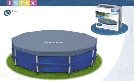Intex 28030, тент для каркасного бассейна, Д305см