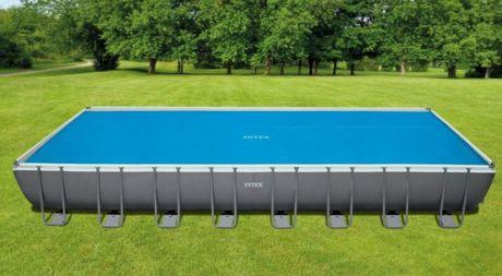 """Intex 29030, обогревающий тент-покрывало """"SOLAR COVER"""" для бассейна, 975x488см"""