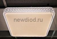 Управляемый светодиодный светильник PLUTON 629 76Вт-19м² 540мм пульт 6/3/4000K Oreol