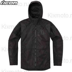 Куртка Icon Raiden, Темно-синяя с черным