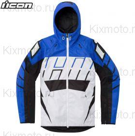 Куртка Icon Airform Retro, Бело-синяя
