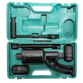 GR-LS4800L Гайковерт ручной с механическим редуктором, 310 мм, 1:69, 4800 Нм, головки 32, 33 мм GARWIN