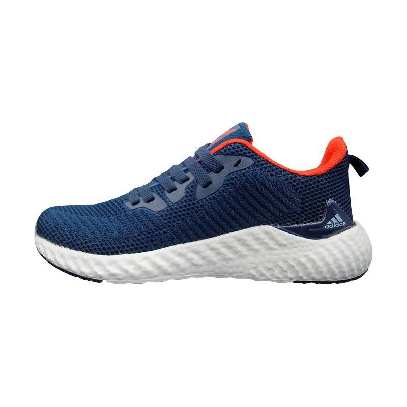 Кроссовки синие Adidas Alphabounce