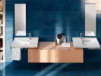 Подвесная или мебельная накладная раковина Hatria Grandagolo 75 75х50 схема 4