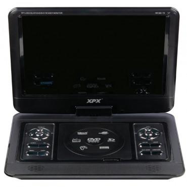 Портативный Цифровой DVD-плеер XPX EA 1369D с ТВ тюнером