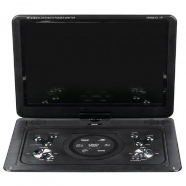 Портативный DVD-плеер XPX EA 1769D с ТВ тюнером