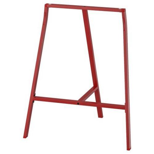 LERBERG ЛЕРБЕРГ, Опора для стола, красный, 70x60 см - 304.736.44