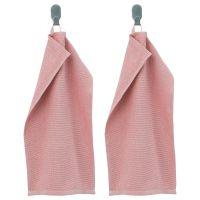 KORNAN КОРНАН, Полотенце, розовый, 30x50 см - 104.563.15
