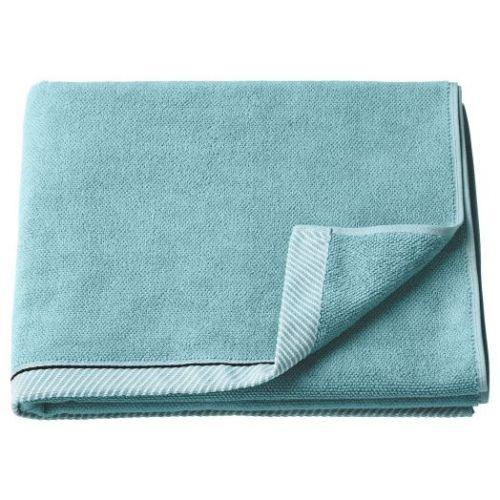 VIKFJARD ВИКФЬЕРД, Банное полотенце, голубой, 70x140 см - 304.753.70