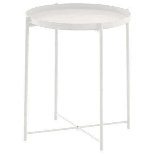 GLADOM ГЛАДОМ, Стол сервировочный, белый, 45x53 см - 003.832.49